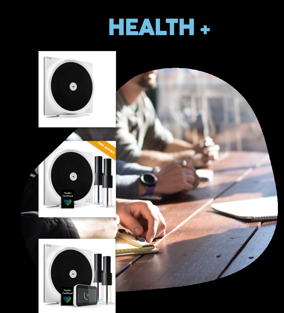 LightAir Health+ luchtzuiveringssysteem, luchtreiniging