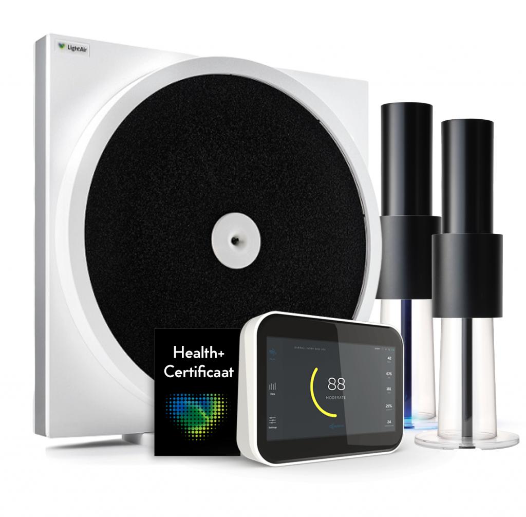Health+ monitor luchtzuivering, luchtreiniger