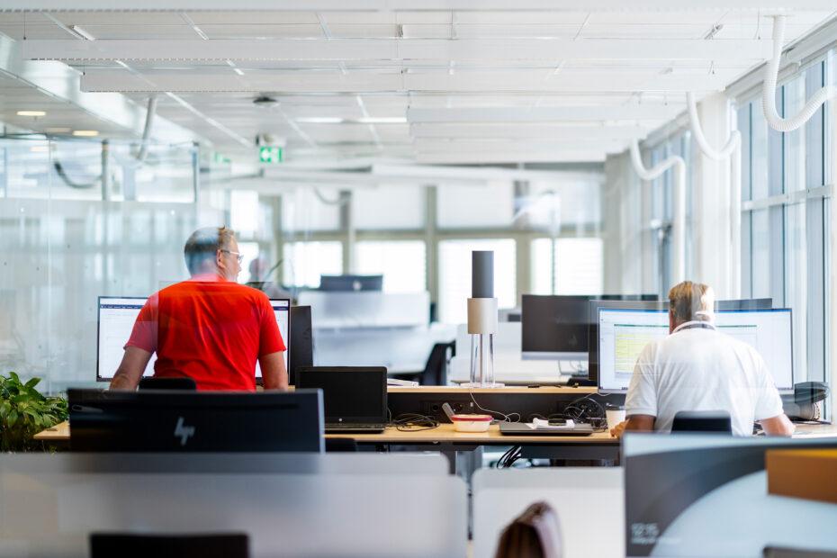 Binnenklimaat kantoor, luchtbehandeling, schone lucht kantoor