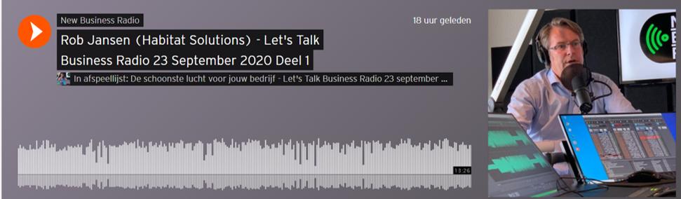Ademschonelucht.nl bij New Business Radio