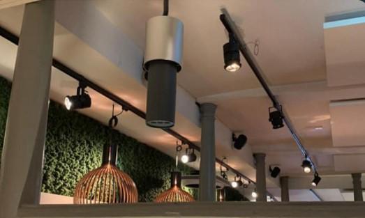 Lightair health+ virussen verwijderen veilige lucht restaurant picasso