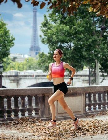 Topsporter gezonde lucht
