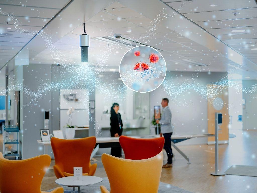 lightair zakelijk, het onzichtbare mondkapje, luchtreiniging kantoor, binnenklimaat